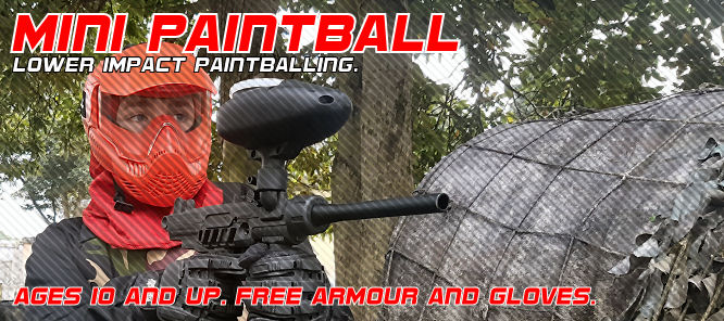 Mini Paintball in Exeter and Newton Abbot