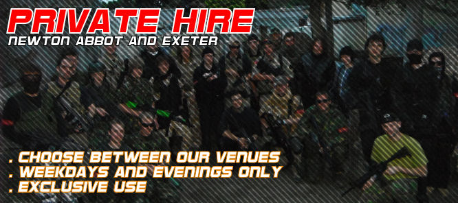 Airsoft Private Hire